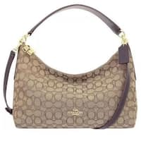 Coach 58284 Celeste East West Hobo Bag Black