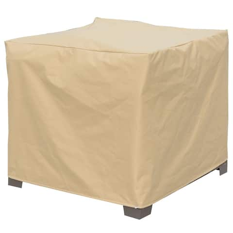 Furniture of America Boyd Transitional Brown Large Chair Dust Cover