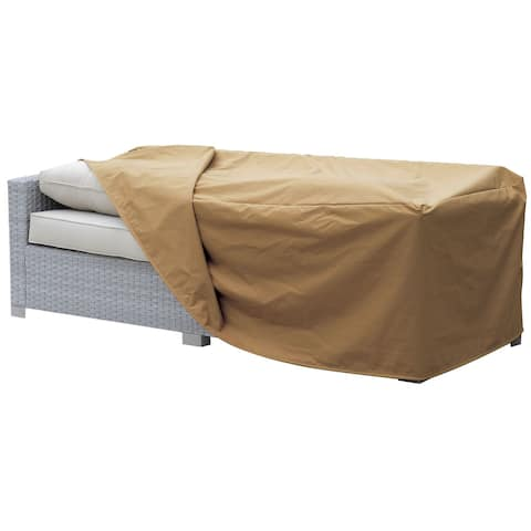 Furniture of America Boyd Transitional Brown Small Sofa Dust Cover