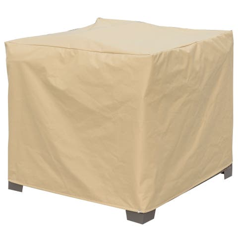 Furniture of America Boyd Transitional Brown Small Chair Dust Cover