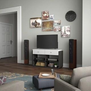 Furniture of America Zilo Contemporary 47-inch Grey Storage TV Stand