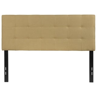 Princeton Full Size Green Fabric Upholstered Headboard