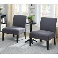 Furniture of America Tina Transitional 3-piece Accent Table and Chair Set