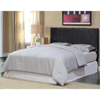 Oliver & James Coustou Espresso Upholstered King-size Headboard