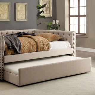 Furniture of America Bernice Contemporary Queen-size Trundle