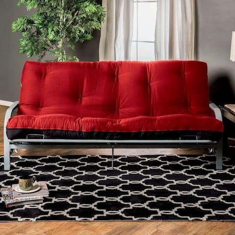 Furniture of America Pram Contemporary 6-inch Fabric Futon Mattress