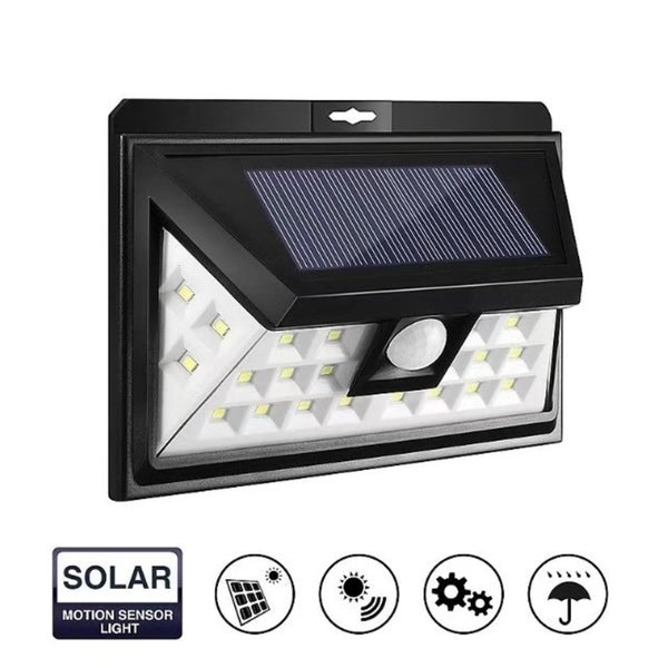 Waterproof 24 LED Solar Power Security Light Motion Sensor Outdoor Garden Lamp B