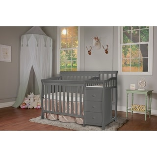 Dream On Me Jayden 4-in-1 Mini Convertible Crib And Changer  sc 1 st  Overstock & Baby Cribs For Less | Overstock.com