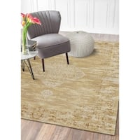 LR Home Jewel Natural Persian Ethereal Area Rug - 8' x10'