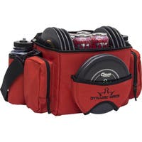 Dynamic Discs Soldier Cooler Disc Golf Bag (Red/Black)