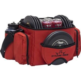Dynamic Discs Soldier Cooler Disc Golf Bag (Red/Black)