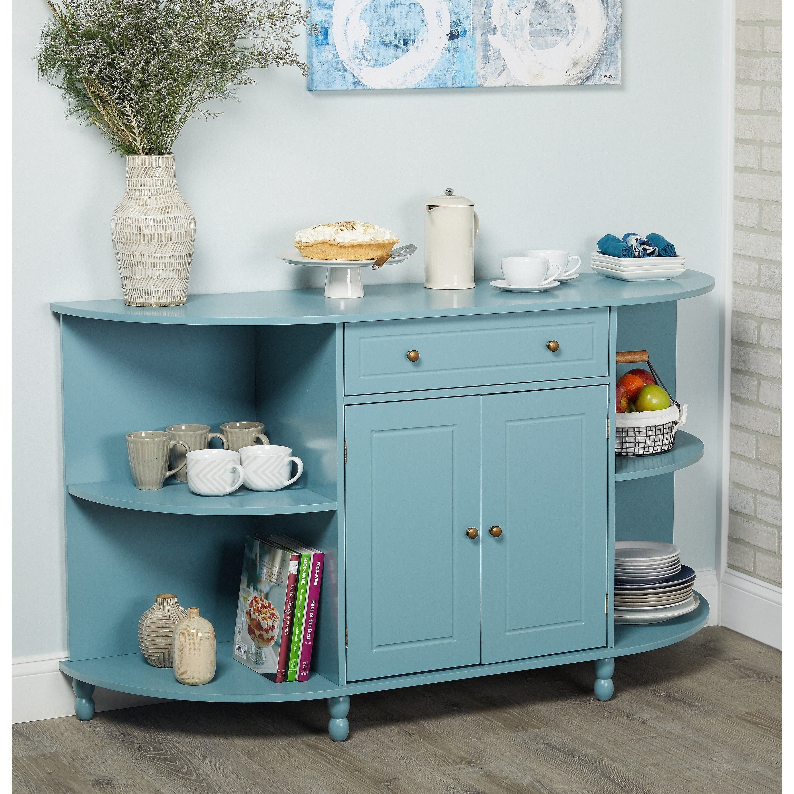 Buy Blue Buffets, Sideboards & China Cabinets Online at Overstock ...