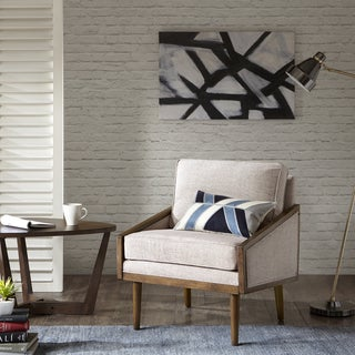 Shop Avnet Contemporary Multi Chevron Print Club Chair By