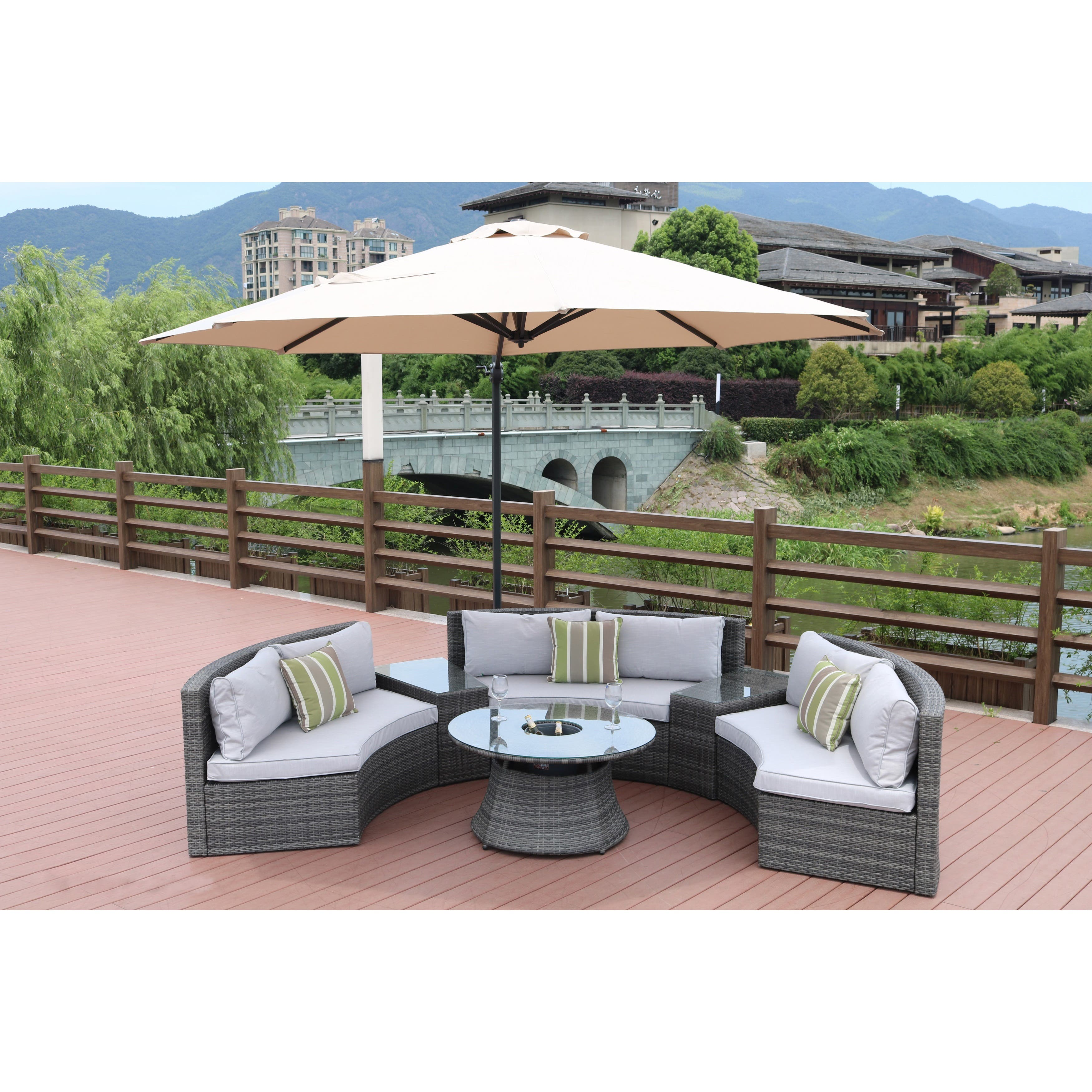 Outdoor Sofas Chairs Amp Sectionals For Less Overstock