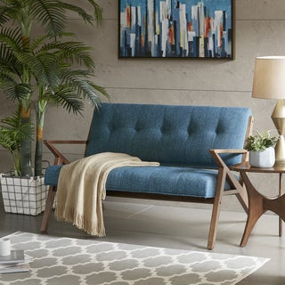 INK+IVY Rocket Blue Loveseat