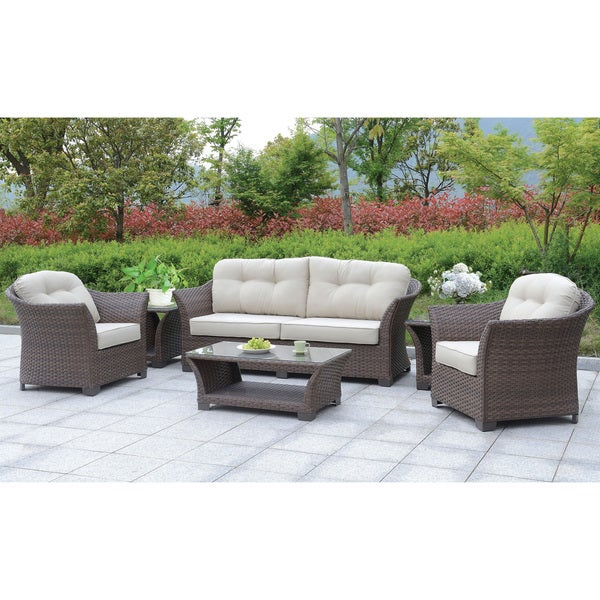 Patio Furniture Boise: Shop Furniture Of America Piz Contemporary Metal 6-piece