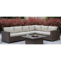 Langston Contemporary Patio Sectional by FOA