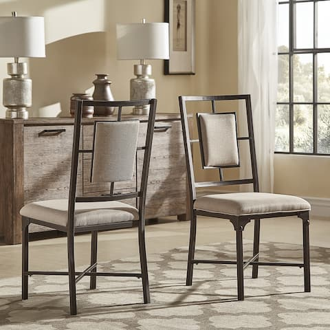 Dania Industrial Dining Chairs (Set of 2) by iNSPIRE Q Classic