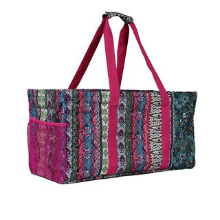 World Traveler Artisan Household Essential Collapsable Multi-purpose Tote Bag