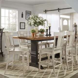 french country dining room set. Eleanor Antique Black Counter Height Panel Back Dining Set By INSPIRE Q Classic French Country Room