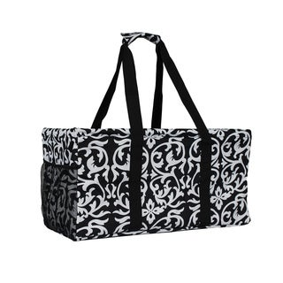 World Traveler Damask Household Essential Collapsable Multi-purpose Tote Bag