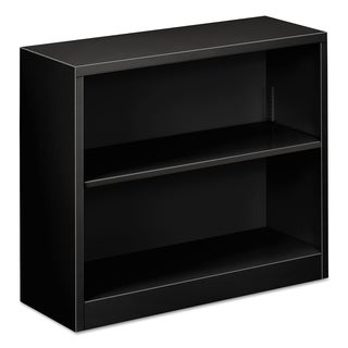 Alera Steel 2-Shelf Bookcase, 34.5 in. w x 12.63 in. d x 29 in. h