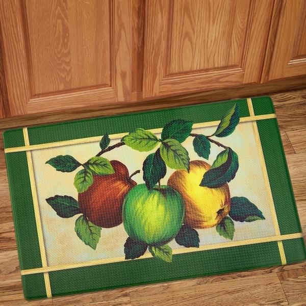 Apples Printed Anti-Fatigue Kitchen Mat (18\