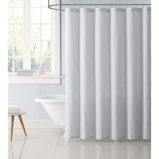 Truly Soft Everyday Printed Stripe Shower Curtain