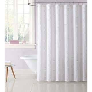 Truly Soft Everyday Printed Dot Shower Curtain