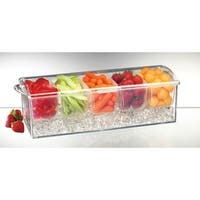 Prodyne  Condiments-On-Ice  10 cups Food Storage Container