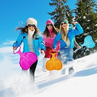 Silicone Snow Sled with Handle