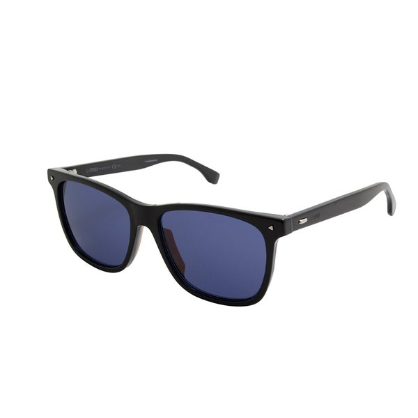 20244d79d5 Shop Fendi Women s FF M0002 S Black Sunglasses - Free Shipping Today ...