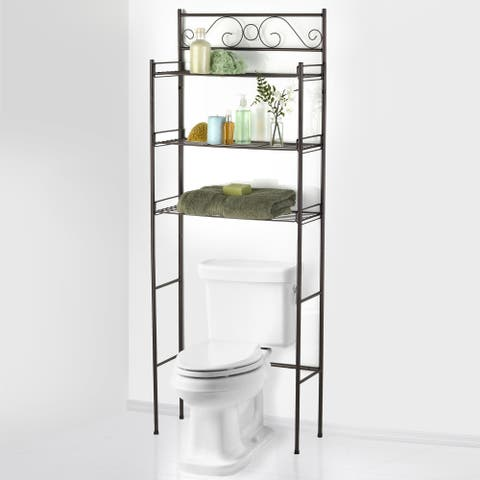 Sweet Home Collection Bathroom Space Saver (ORB)