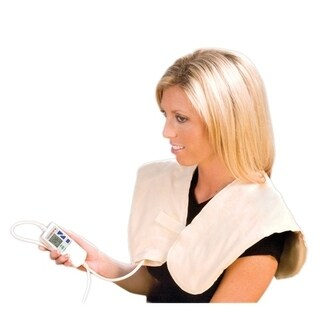 "Theratherm Digital Moist Heat Pad, Shoulder/Neck (23 x 20"")"