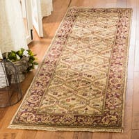 Safavieh Couture Hand-Knotted Old World Vintage Camel Wool Rug - 2'6' x 8'