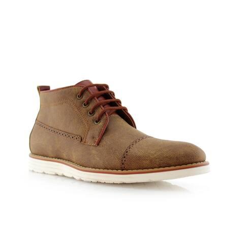 Ferro Aldo Donovan MFA506025 Mens Chukkas Boots For Work or Casual Wear