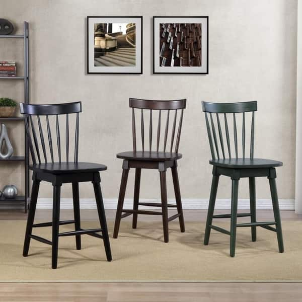 Astounding Shop Elise Counter Height Swivel Stool Free Shipping Today Bralicious Painted Fabric Chair Ideas Braliciousco