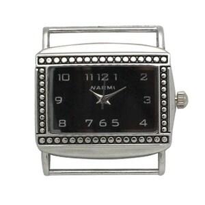 Olivia Pratt Rectangle Solid Bar Watch Face