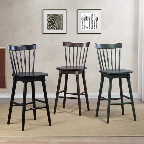 Excellent Shop Elise Bar Height Swivel Stool Free Shipping Today Bralicious Painted Fabric Chair Ideas Braliciousco