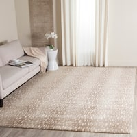 Safavieh Couture Hand-Knotted Tibetan Contemporary Grey Wool & Cotton Rug - 9' x 12'