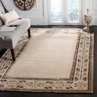 Safavieh Couture Hand-Knotted Contemporary Seafoam Silk & Wool Rug - 9' x 12'