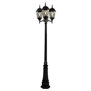 "TGL 4719 Villa Nueva 96"" Pole Light (Option: Rust - Natural Finish)"
