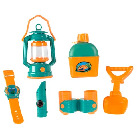 Hey! Play! Pretend Play Camping Set - 6 Pieces