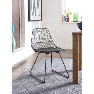 Elle Decor Vivi Metal Chair (Set of 2)
