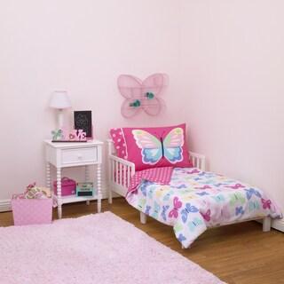 Carter's Butterflies 4-piece Toddler Comforter Set