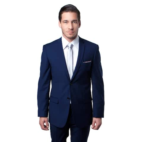 Mens Suit Slim Fit Notch Lapel Suit Set