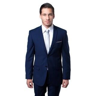 Mens Suit Slim Fit Notch Lapel Suit Set