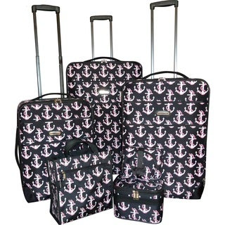 Karriage-Mate Anchor 7-piece Expandable Luggage Set