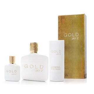 Jay-Z Gold Men's 3-piece Gift Set