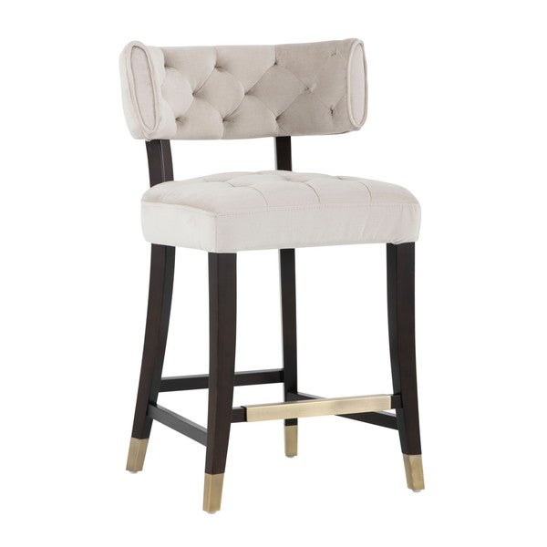 Shop 5west Fabric Tatum Counter Stool On Sale Free